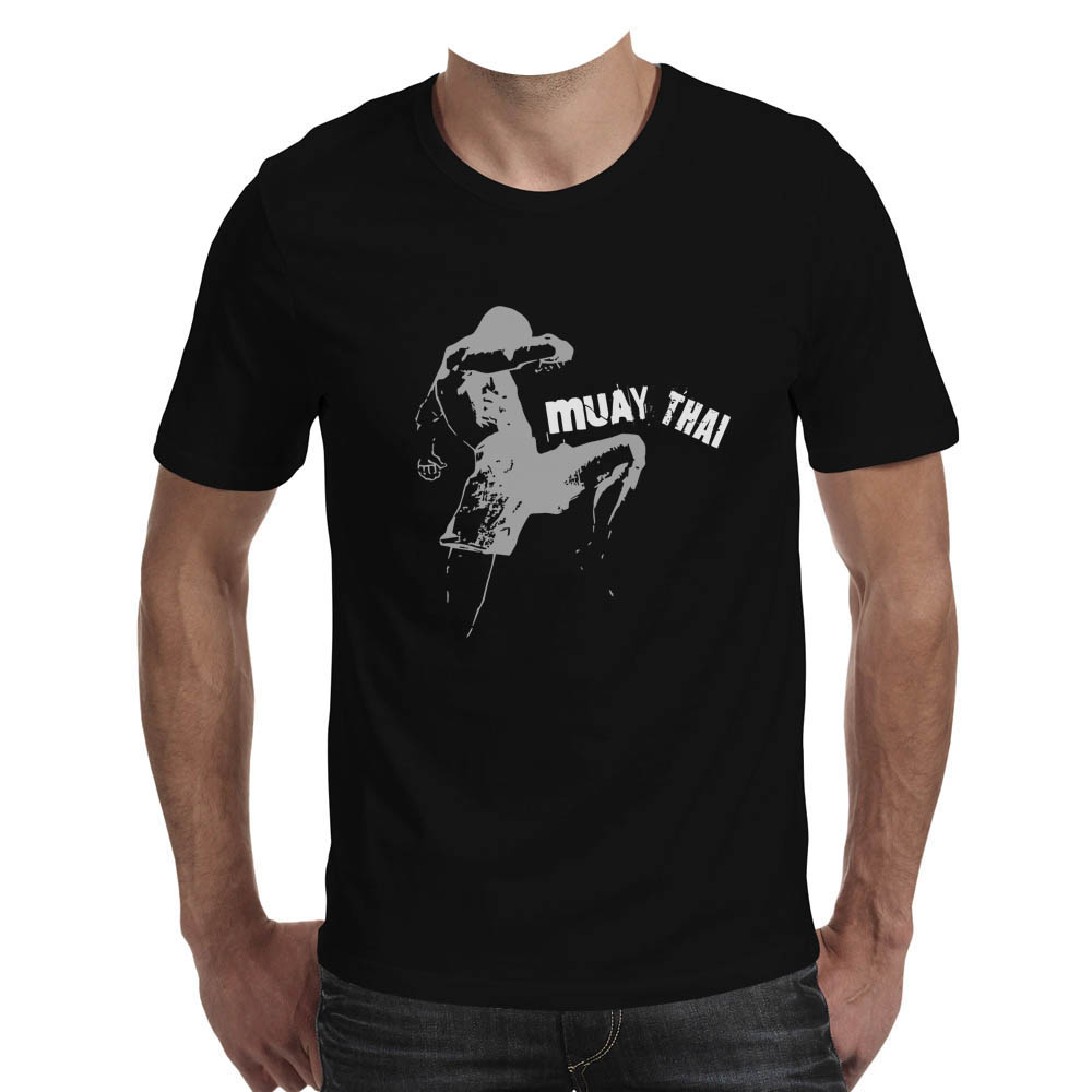 T shirt Muay Thai  made in PERU  Black  ds3